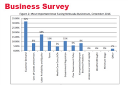 December Surveys: Optimistic Businesses and Cautious Consumers