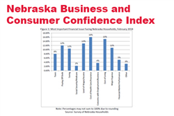 Nebraska Business and Consumer Confidence Fall From Peak Levels