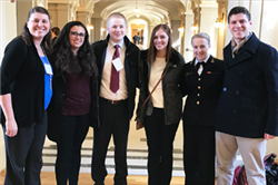 Four Students Attend U.S. Naval Academy Leadership Conference