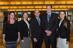 Graduate Students Compete in National Sports Forum Case Cup