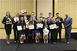 UNL Students Capture Over 40 Awards at PBL State Conference