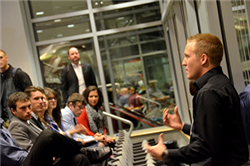 Students Compete for Cash Prizes at Quick Pitch, November 19