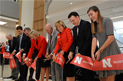 Howard L. Hawks Hall Opens for Business at Nebraska