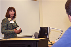 Laura Schulte Advises Students as CBA Master