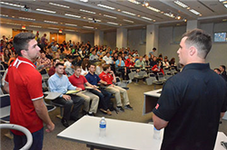 Professional Panel Provides Insights for Supply Chain Management Students