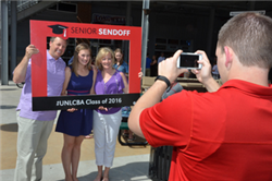 Senior Sendoff Honors Graduates