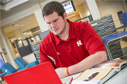 Jeremiah Sirles Joins Husker Business Students Recognized at Awards Banquet