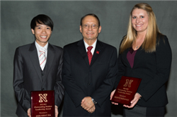 CBA Students Berends, Ha Receive UNL Outstanding Student Leadership Awards