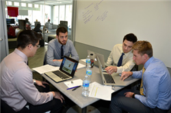 Students Compete in UNL Union Pacific Case Competition
