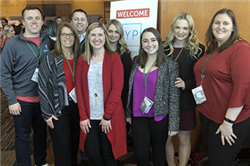 Six MABA and MBA Students Attend YP Summit