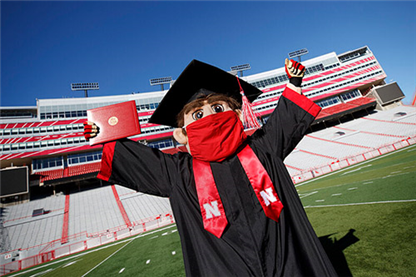 Nebraska Students Celebrate at In-Person Commencement