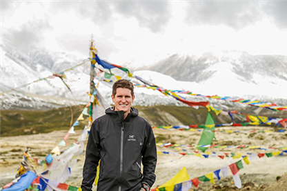 Nunnally Pursues MBA@Nebraska to Maximize Service in Nepal