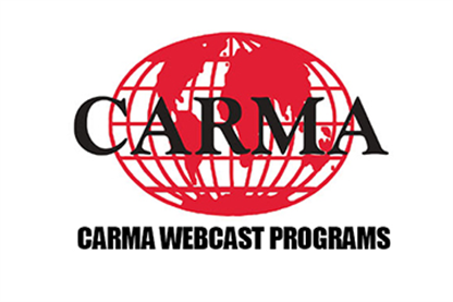 Williams and Landers Featured on CARMA Webcasts