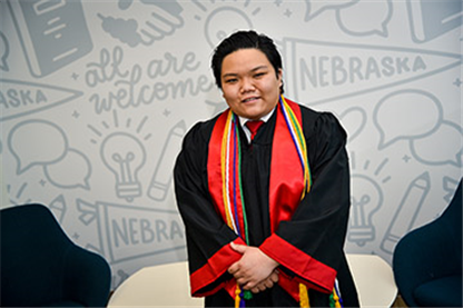 Nguyen Graduates with Legacy of Helping Advance Allied Community at Nebraska