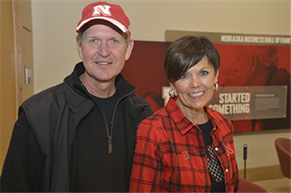 Alumni Tailgate Rallies Nebraska College of Business Community