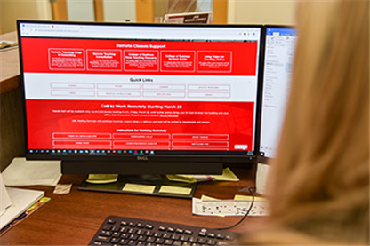 Faculty and Staff Encouraged to Utilize Resources Webpage