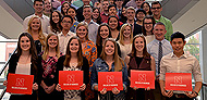 Nearly 400 Business Students Receive Accolades