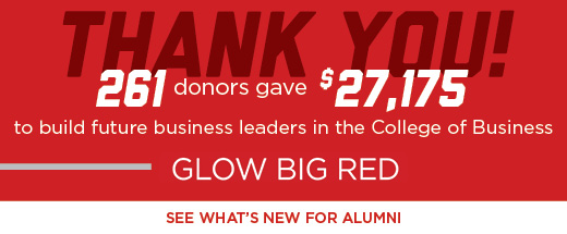 Glow Big Red Thank You